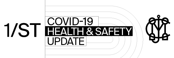 1/ST Covid-19 Health & Safety Update