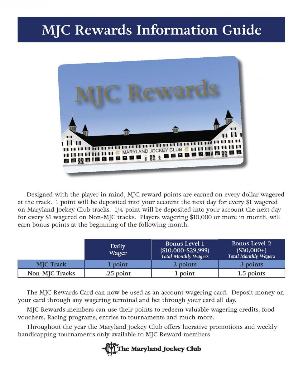MJC Rewards Information Guide